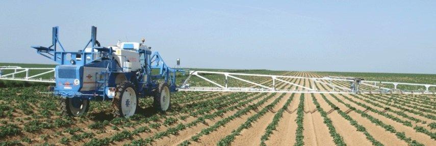 Fertilisation d'un sol agricole aux intrants